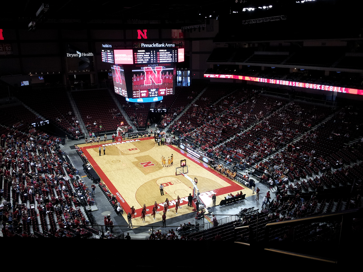 Pinnacle Bank Arena Gameday